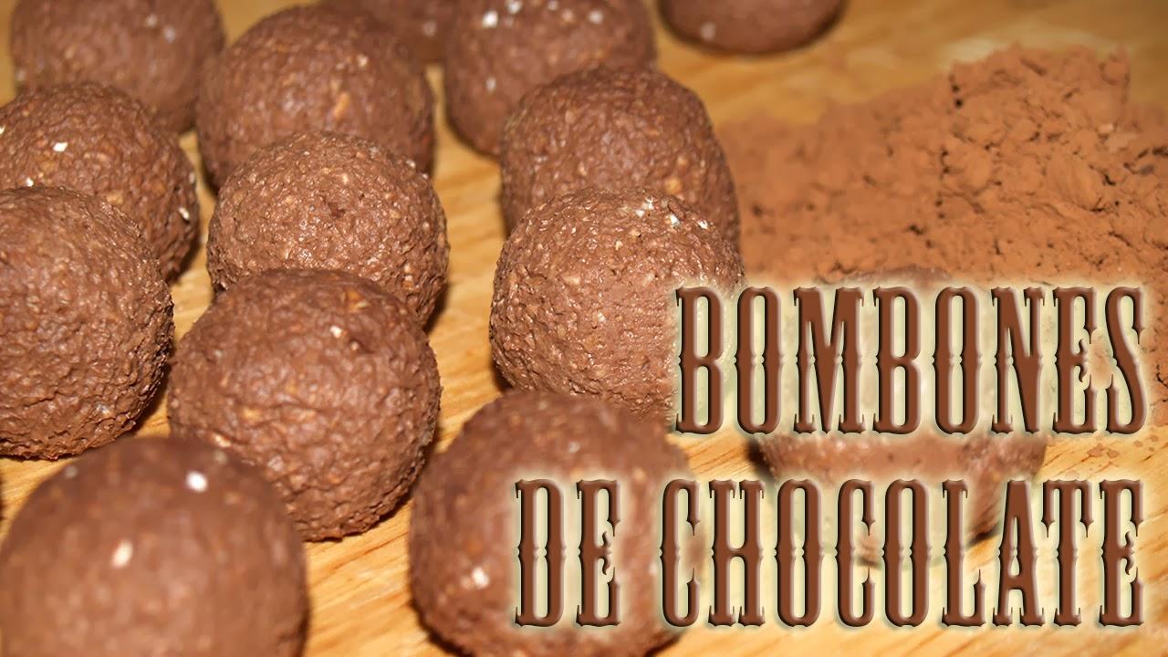 bombones de chocolate dukan