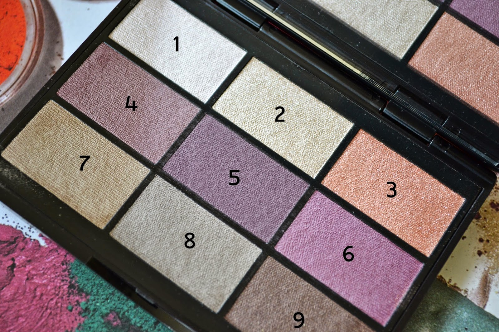 GOSH 9 Shades Eye Shadow Palette To Enjoy In New York Review - Aspiring Londoner