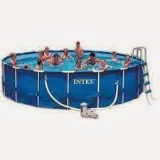 Vendendo baraaaato piscina intex 16 mil litros for Piscina 7 mil litros