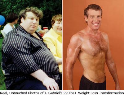 Jon Gabriel y su método para perder peso