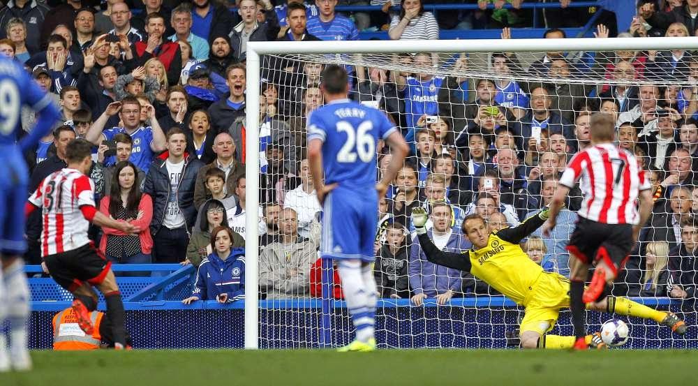 Trascendental derrota del Chelsea en casa ante el Sunderland