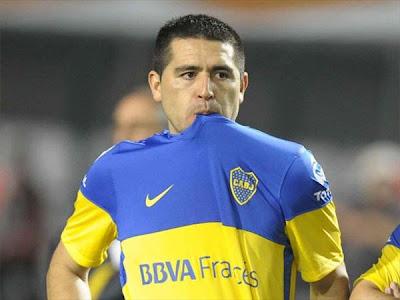 """Riquelme: """"No volveré a jugar en Boca Juniors"""""""