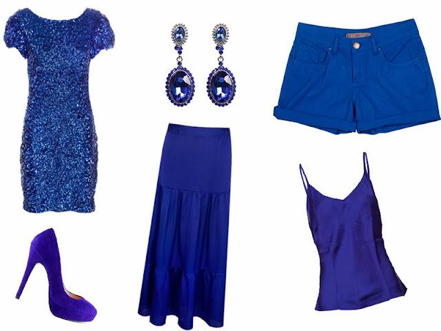 cor, Réveillon, azul