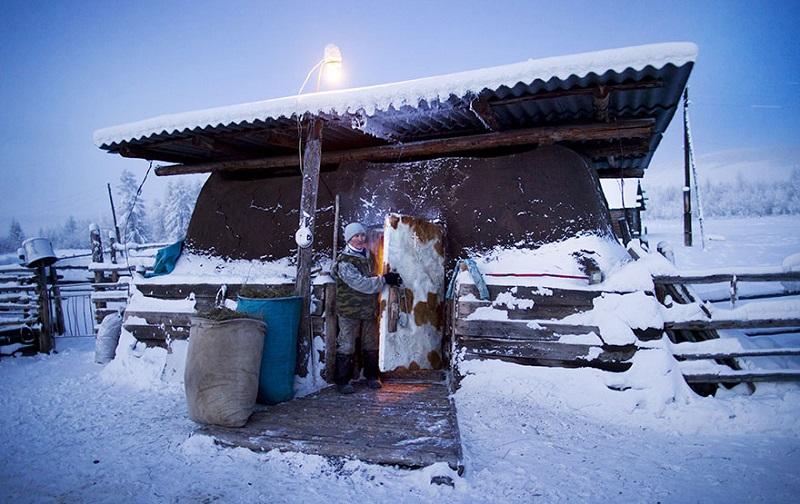 Оймяко - самый холодный поселок в Якутии и в мире
