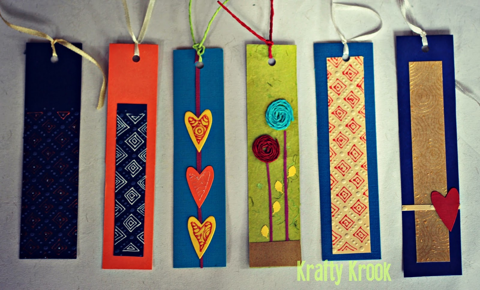 Krafty krook bookworms for bookworms handmade bookmarks amp clips