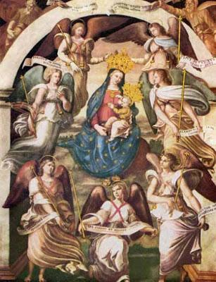 Risultati immagini per devozione dei sette Angeli davanti al Trono di Dio