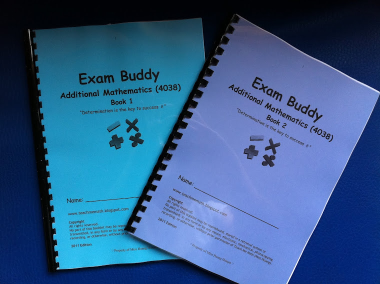 Exam Buddy (A Math Series) 1st Edition 2011