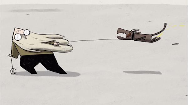 Corto de animación Wind