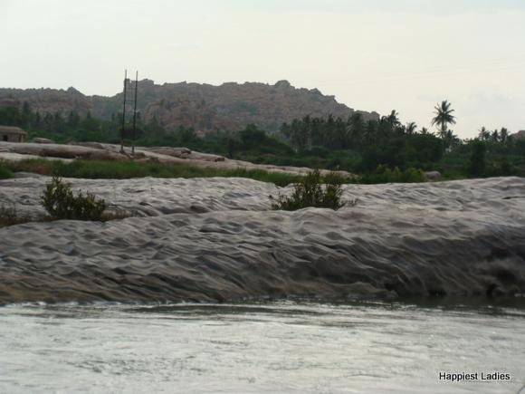 Tungabhadra river near Navavrindavana