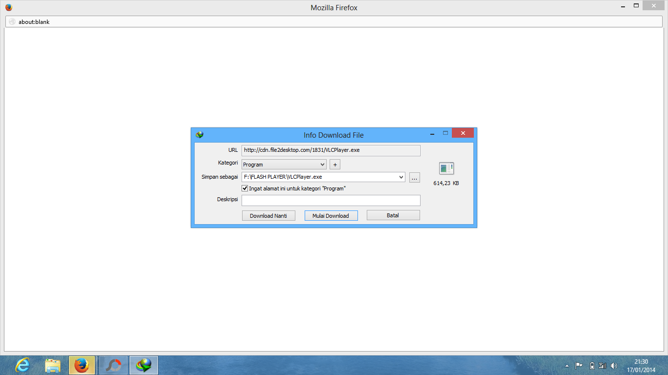Tutorial Download di Media1Fire
