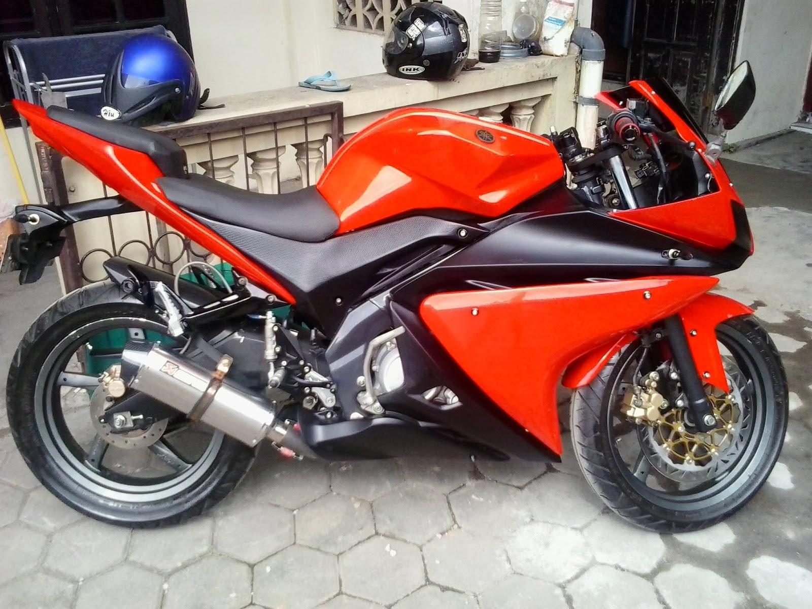 Modif Yamaha Vixion Hitam