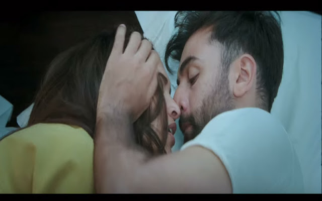 Two supposedly leaked photos of Ranbir and Deepika kissing in Tamasha have gone viral.   Though the lead pair of the movie have kissed extensively before, the raw passion they pack in two photographs is unmatched, say fans.