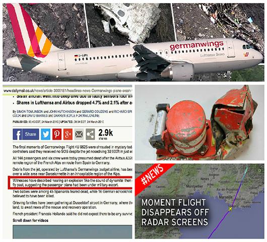 Flight 4U 9525 Germanwings Airbus: More Mysterious Evidence