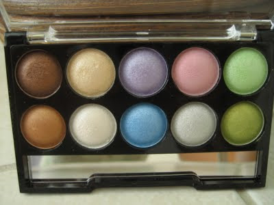 beautyuk eye shadow palette Pastels