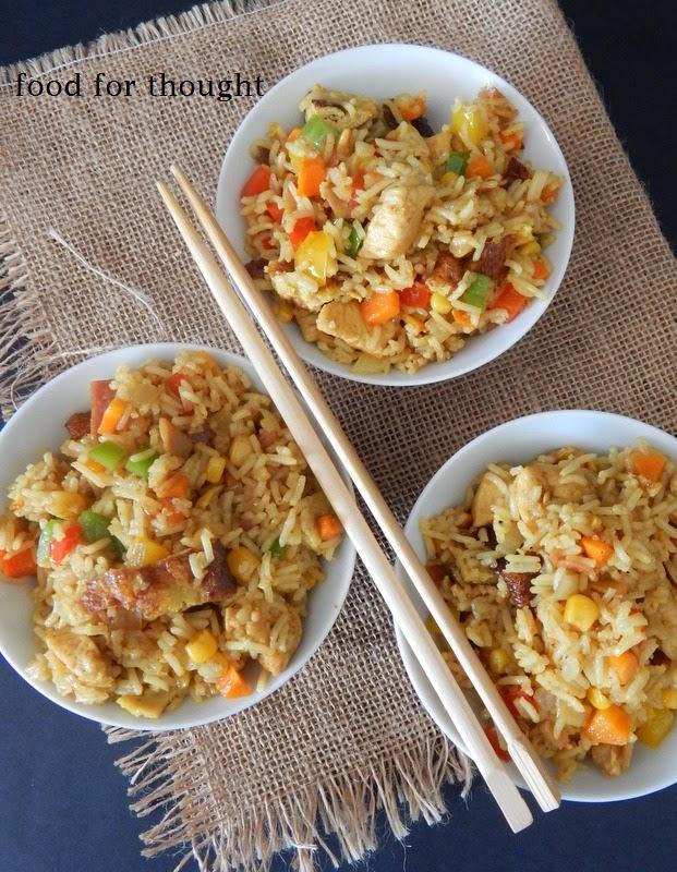 Κινέζικο τηγανητό ρύζι