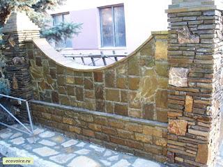 Каменный забор. Фото 21