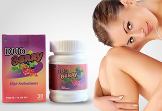 Duo Berry mampu memutihkan tubuh secara alami