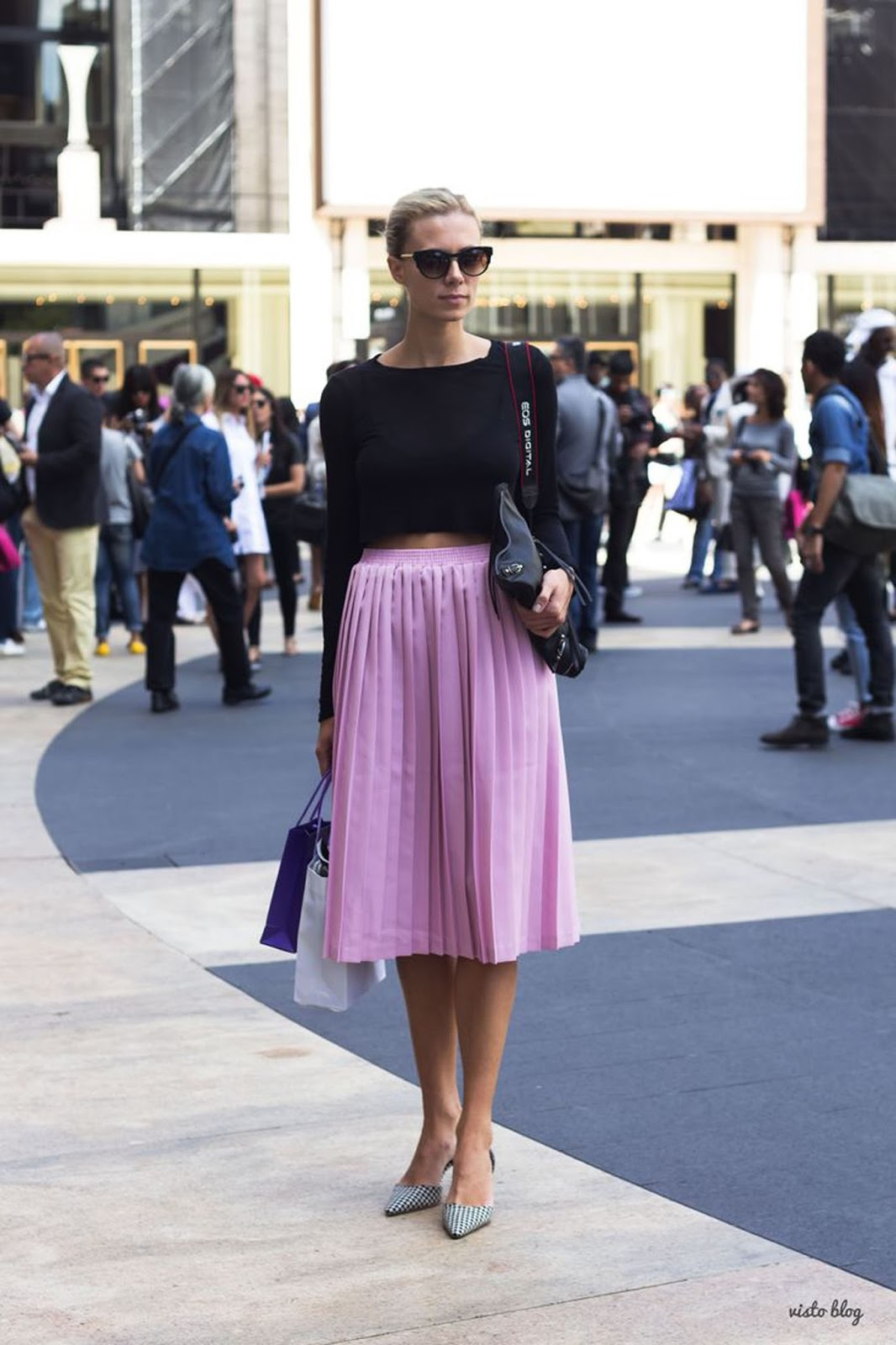 Eniwhere Fashion - Pleated skirt