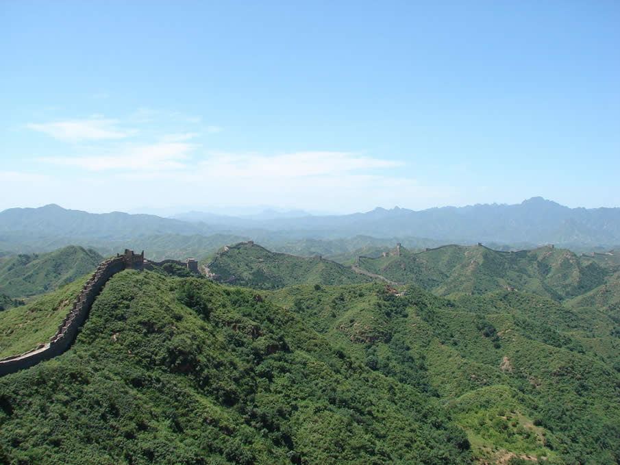 The Great Wall in China