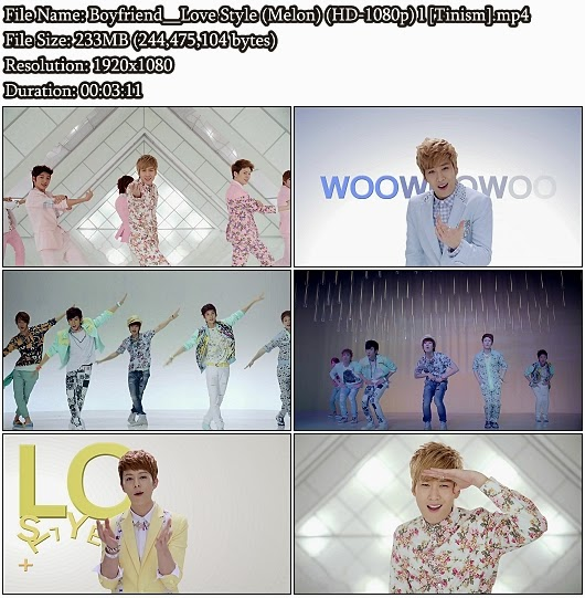 Download MV Boyfriend - Love Style (Melon Full HD 1080p)