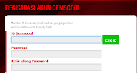 Gemscool Register