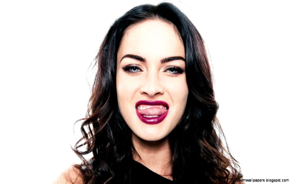 Megan Fox Tongue Out
