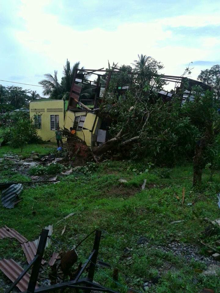 Kejadian Puting Beliung di Daerah Kota Setar Kedah