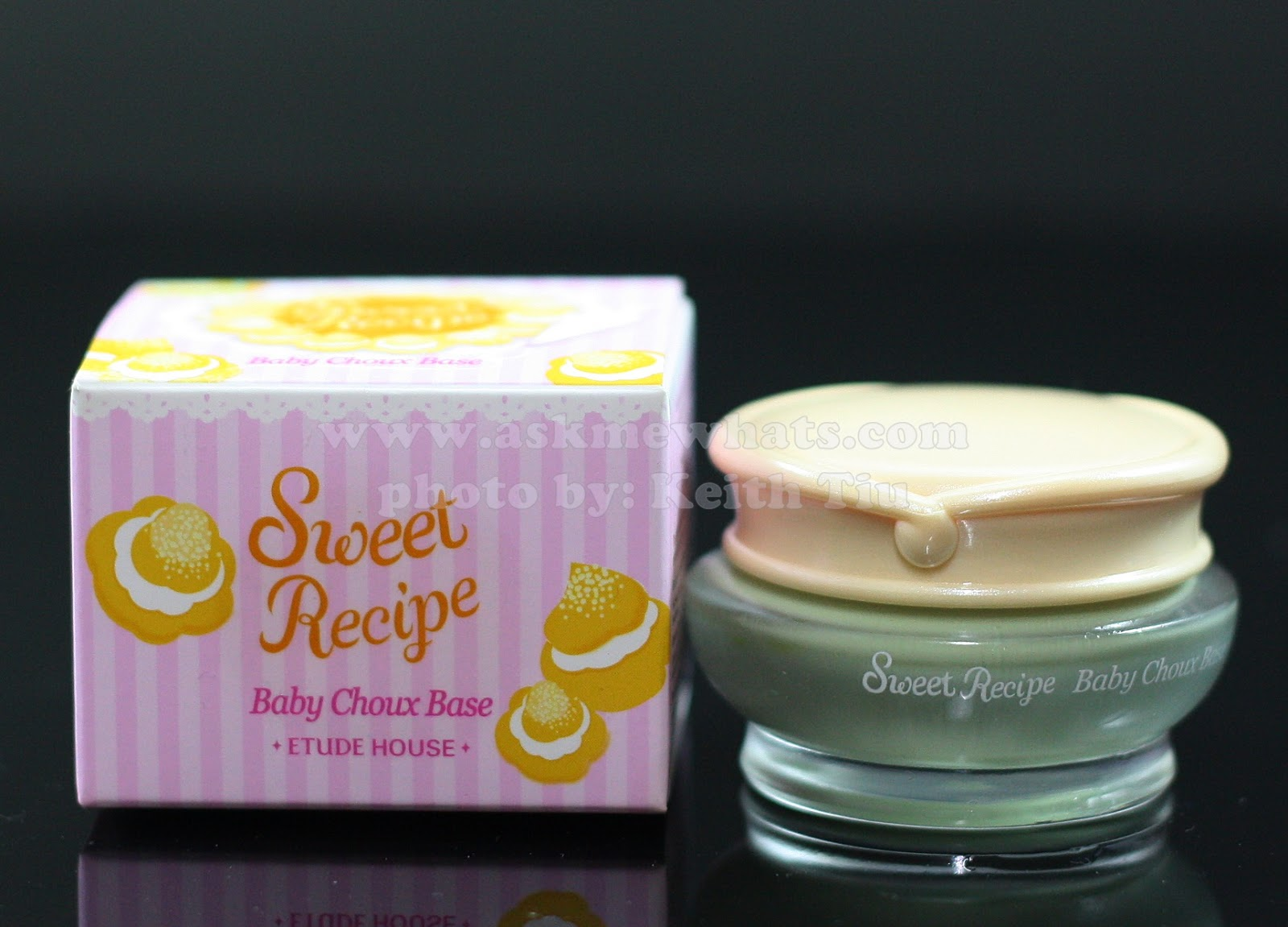Etude House Sweet Recipe Baby Choux Base (Mint)