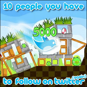 10 People You Have To Follow On Twitter (again)