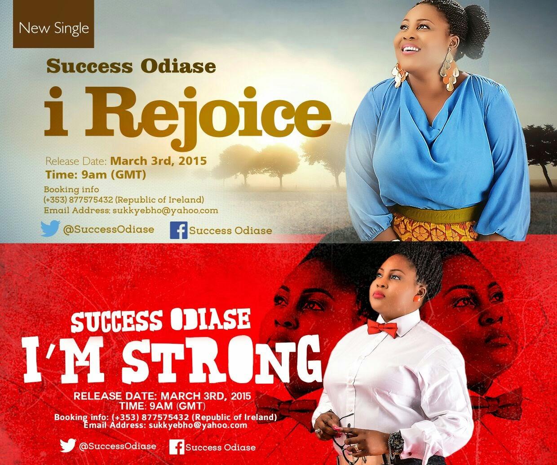 Music: I Rejoice & I'm Strong ~ Success Odiase