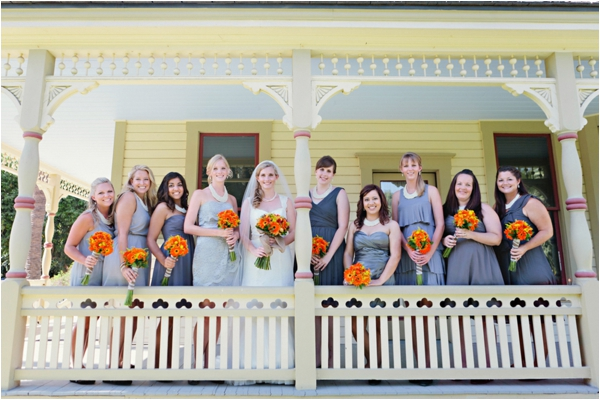 Fullerton Arboretum Wedding by Jen Disney (www.jendisney.com) #bridesmaids