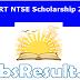 NCERT NTSE Scholarship 2016 Application Form Download