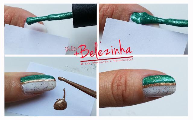 esmalte-verde-branco-fácil
