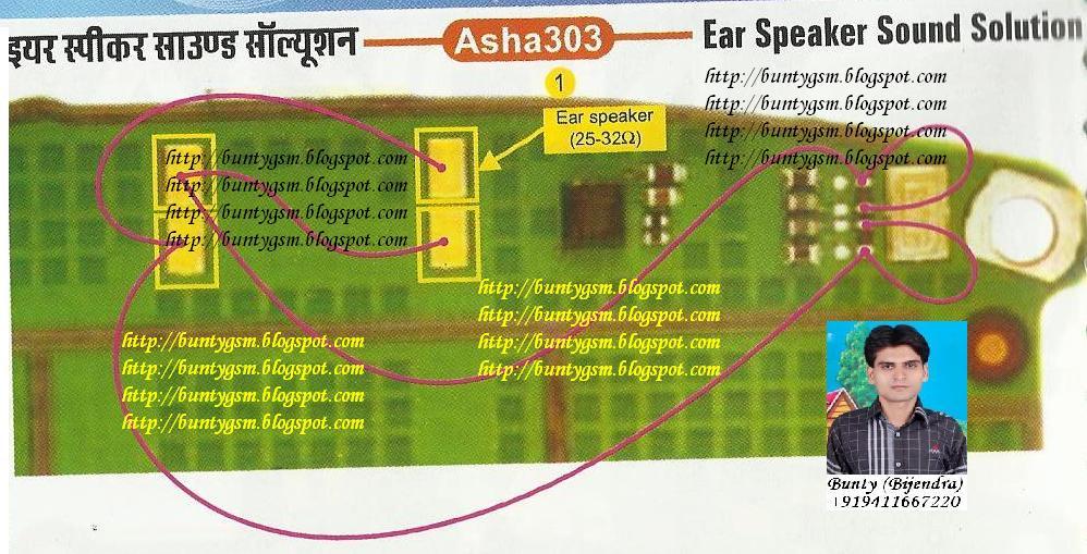 Nokia+Asha+303+Ear+Speaker+Solution+By+BuntyGSM+Mobile+Repairing
