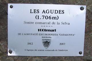Les Agudes (Sostre comarcal de la Selva)