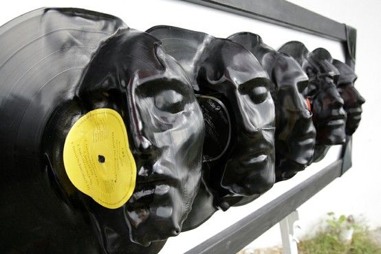 best jewelry: Repurposed Vinyl LP Record Album Art