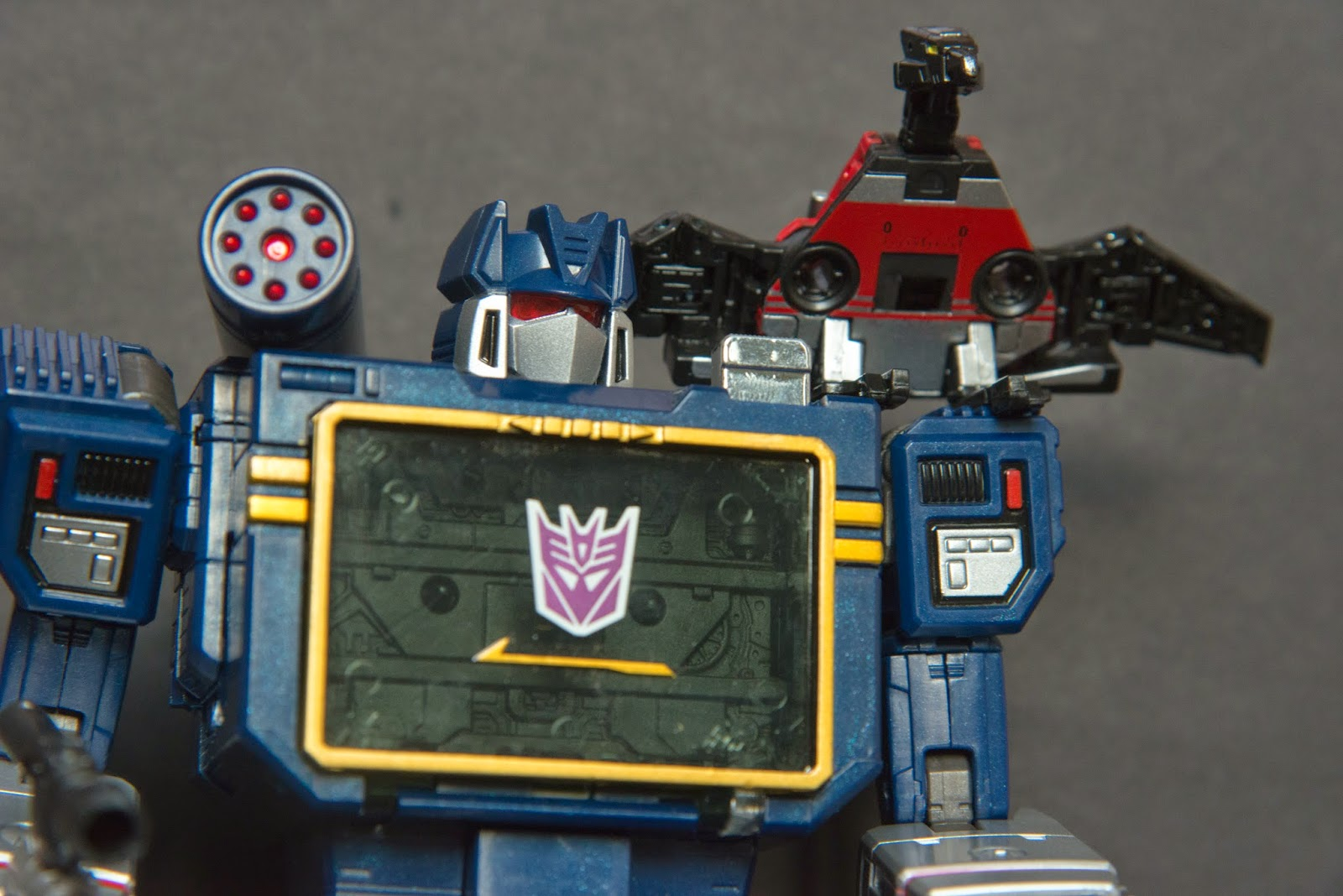 I Love The 80s Toys : Toy construct i love the s masterpiece soundwave