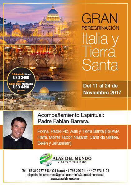 Peregrinación a Tierra Santa (10/2017)