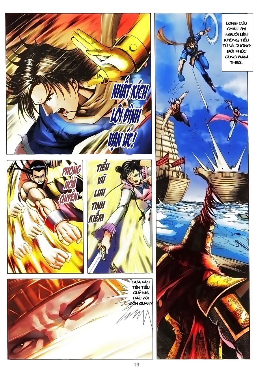 Tân Tác Như Lai Thần Chưởng chap 8 - Trang 16