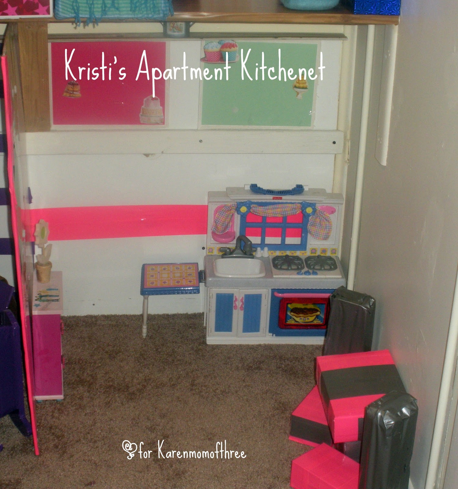 American Girl Doll Apartment By Kristi