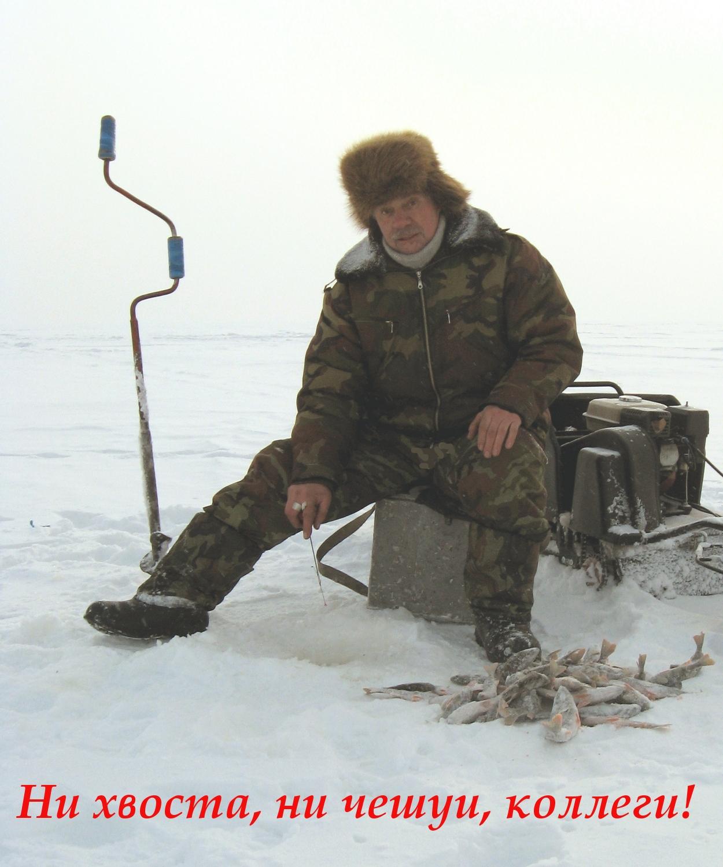 Ни хвоста, ни чешуи на зимней рыбалке!