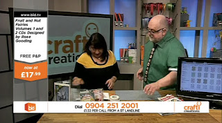 Barry Freestone on Crafti Creations Bid.tv