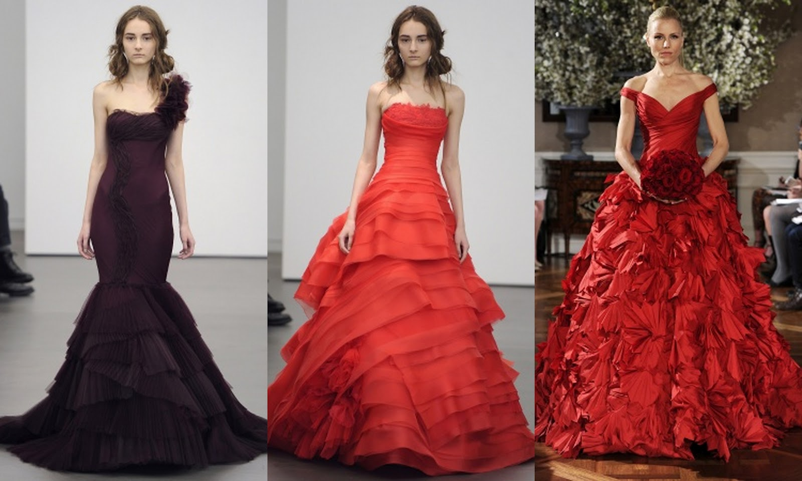 Color Trends In Wedding Dresses