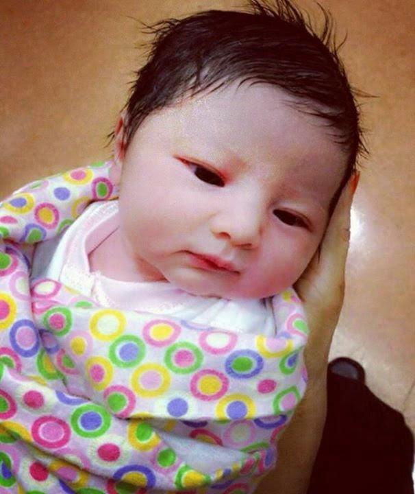 Comel sangat Aaisyah Dhia Rana baby Rozita Che Wan