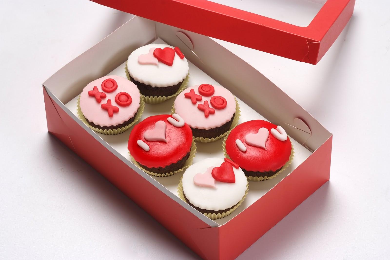 Postres de casa cupcakes san valentin - Postre para san valentin ...