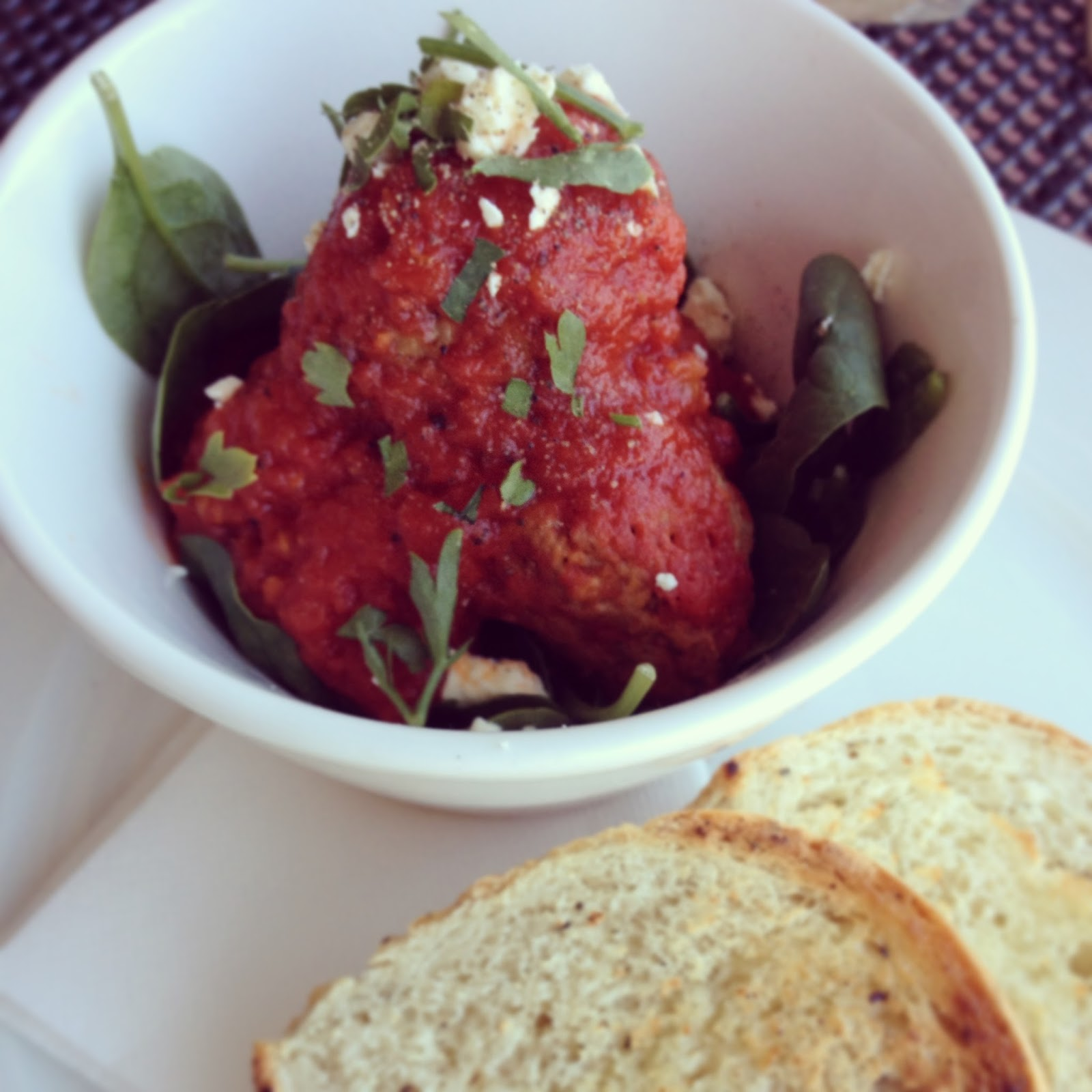 Eire, Cafe, Adelaide, Spicy Lamb meatballs, Clapham