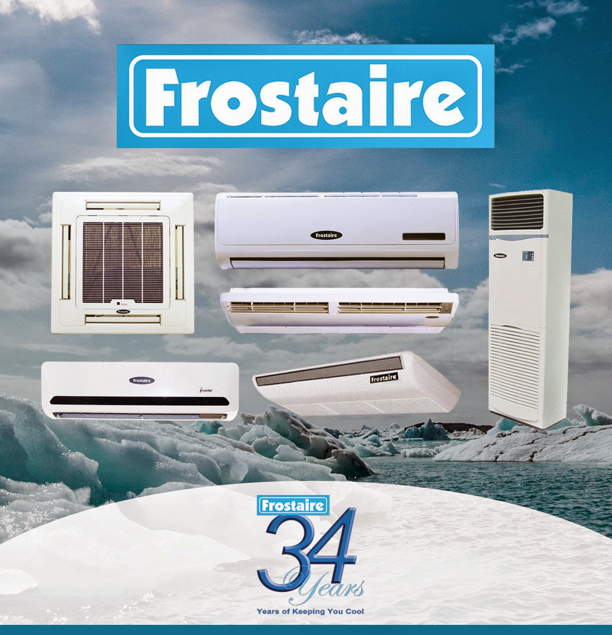Frostaire product range