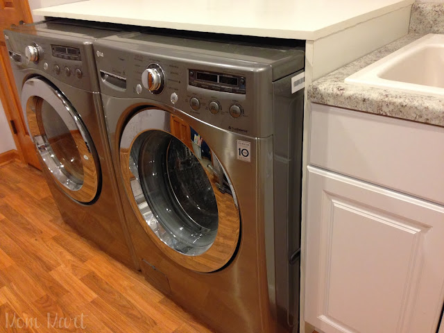 Built In Washer and Dryer Surround