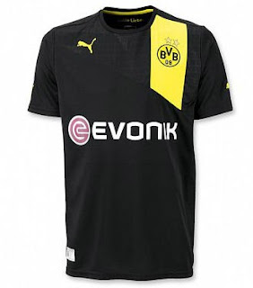 Jersey Grade Ori Borussia Dortmund Away Season 12/13