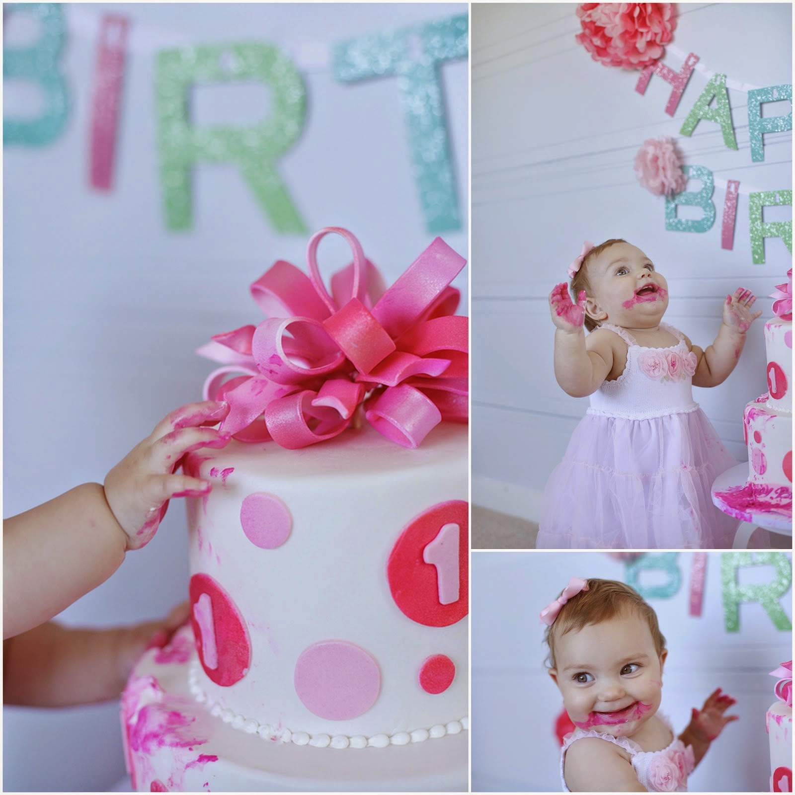 Baby girl birthday decoration ideas image inspiration of for Baby birthday decoration